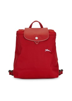 Longchamp Logo Nylon Backpack
