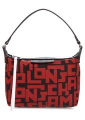 Longchamp Lonchamp Mini Le Pliage Logo Nylon Shoulder Bag