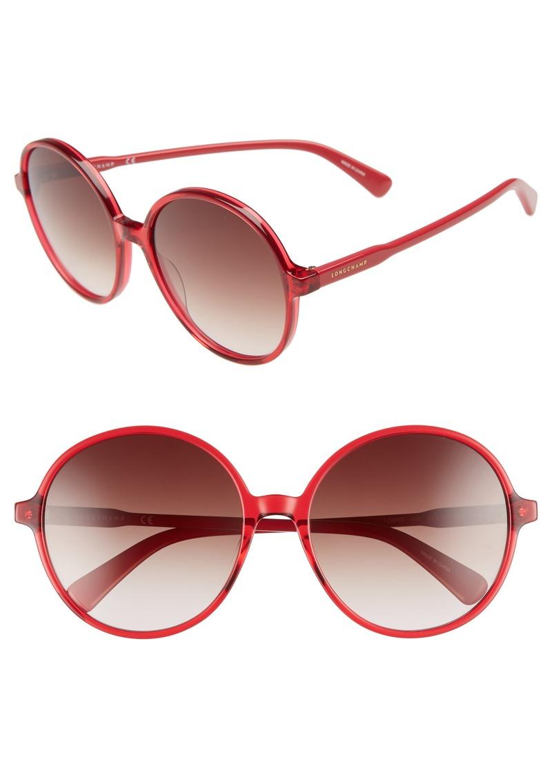922f0ddb2a Longchamp Longchamp 49mm Gradient Round Sunglasses