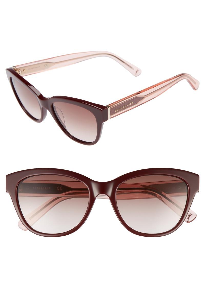 088779e192b Longchamp Longchamp 54mm Gradient Lens Sunglasses