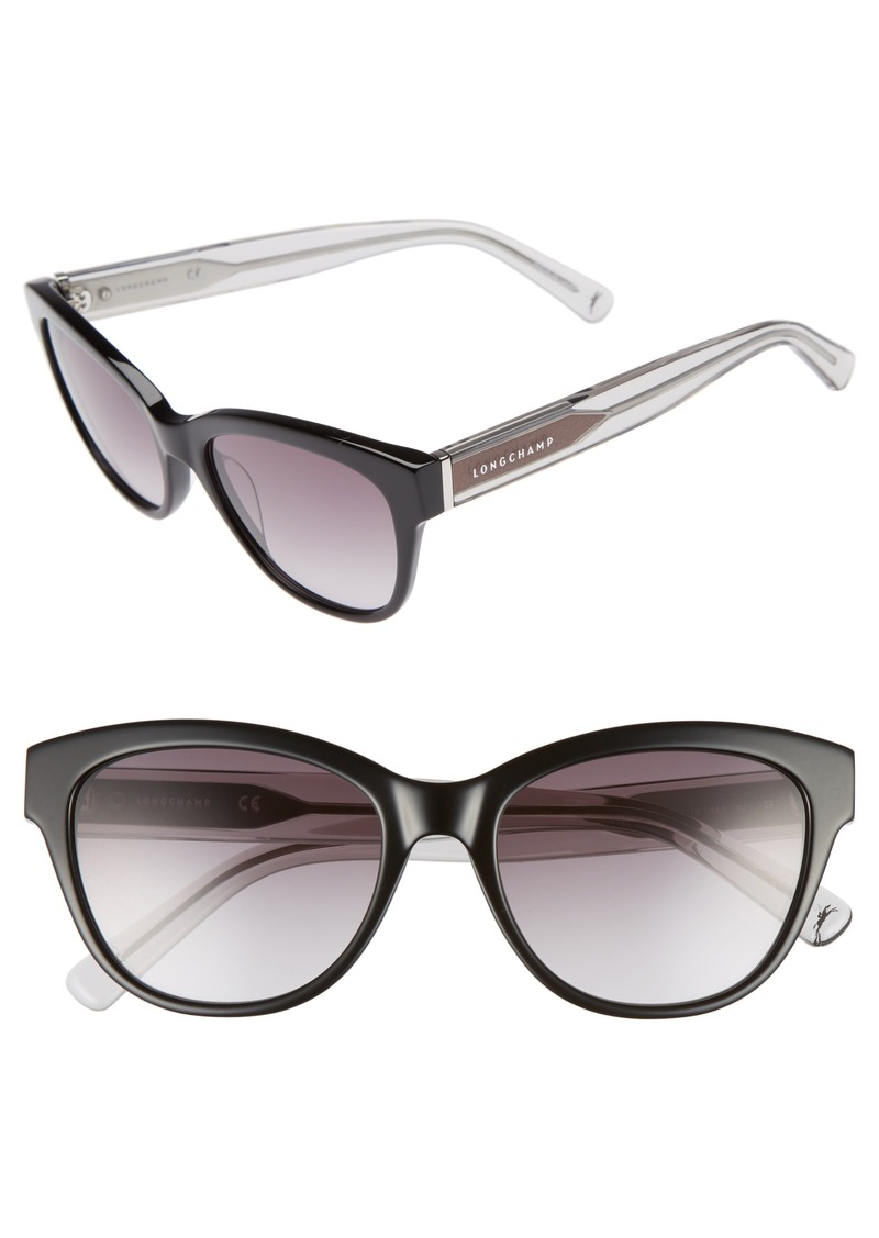 fcc23073173b Longchamp Longchamp 54mm Gradient Lens Sunglasses | Sunglasses