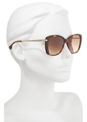 e2540916ebe Longchamp Longchamp 56mm Gradient Lens Butterfly Sunglasses