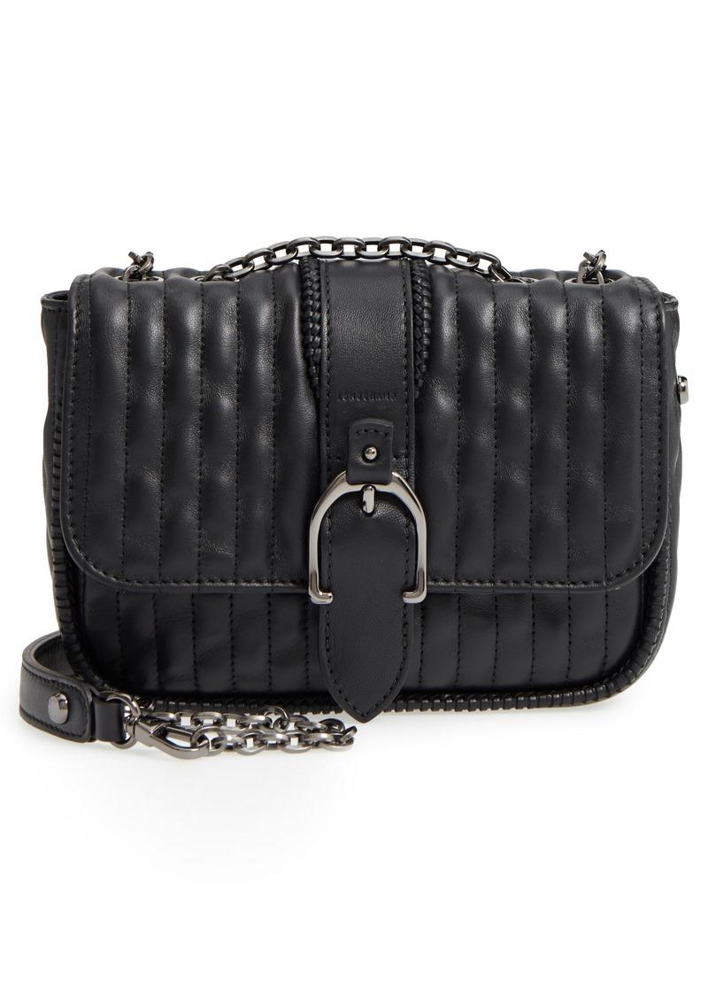 98c025050e2d Longchamp Longchamp Amazone Quilted Leather Crossbody Bag