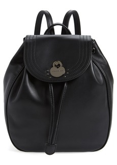 Longchamp Cavalcade Leather Backpack
