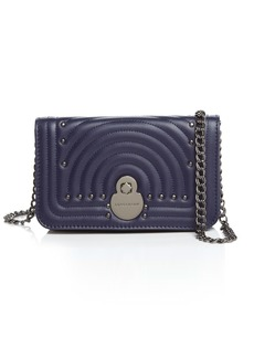 Longchamp Cavalcade Leather Chain Wallet