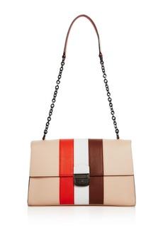 Longchamp Effront� Leather Shoulder Bag