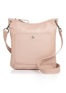 Longchamp Le Foulonn� Flat Leather Crossbody