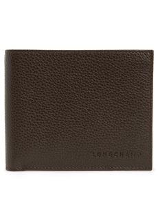Longchamp Le Foulonné Leather Bifold Wallet