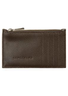 Longchamp Le Foulonné Leather Card Case