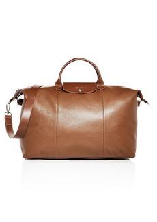 Longchamp Le Foulonn� Leather Duffel Bag