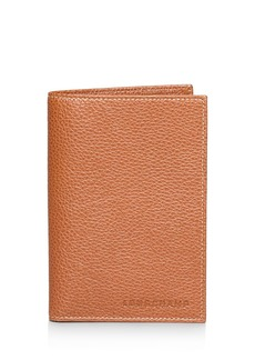 Longchamp Le Foulonn� Passport Wallet