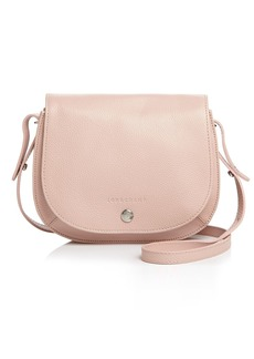 Longchamp Le Foulonn� Small Leather Crossbody