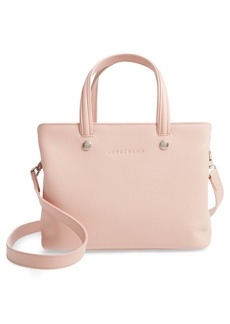 Longchamp Le Foulonné Zip Around Leather Tote