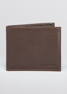 Longchamp Le Foulonn� Bifold Wallet with Coin Pouch