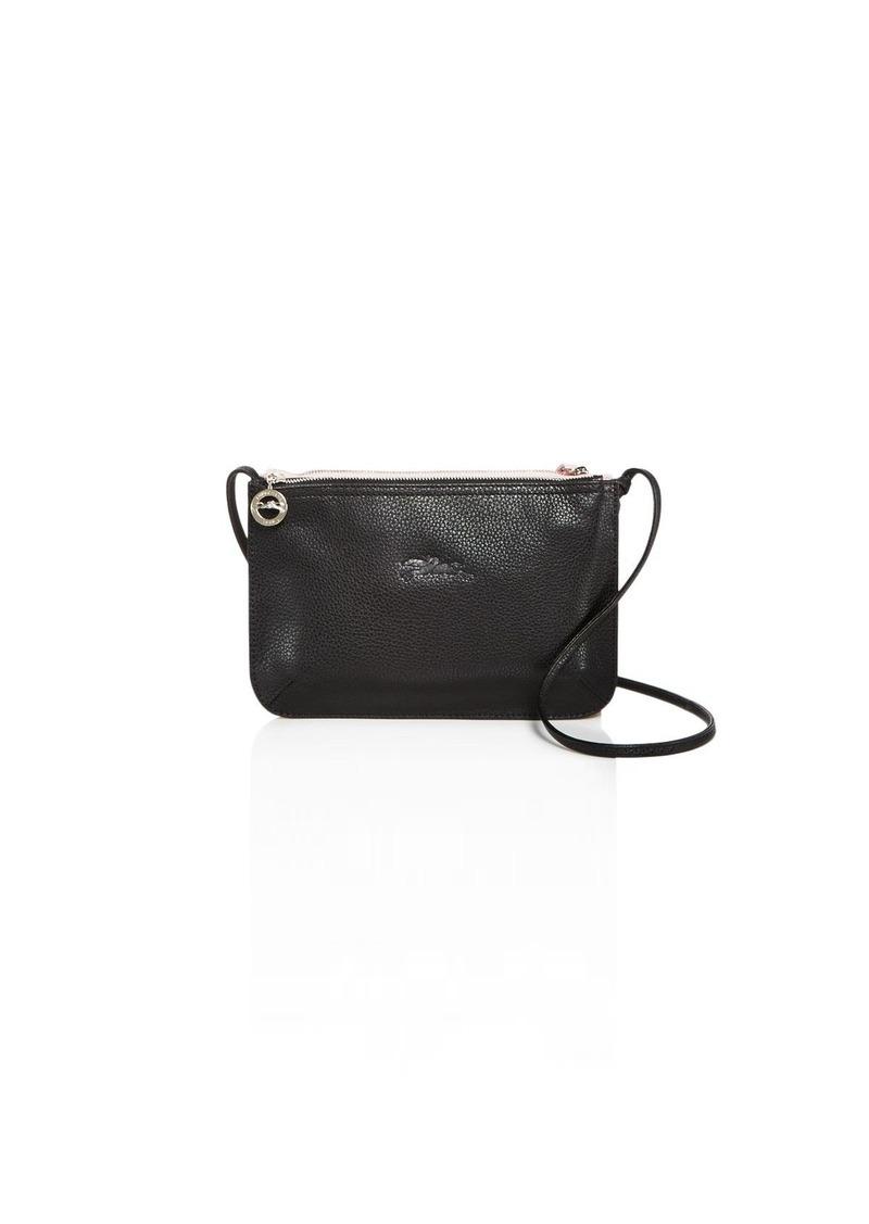 f242dc32702a53 SALE! Longchamp Longchamp Le Foulonne Color Block Small Leather ...