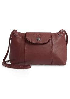 Longchamp Le Pliage - Cuir Leather Crossbody Bag