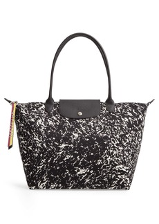 Longchamp Le Pliage Appaloosa Canvas Tote