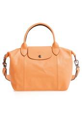 Longchamp Le Pliage Cuir Leather Shoulder Bag