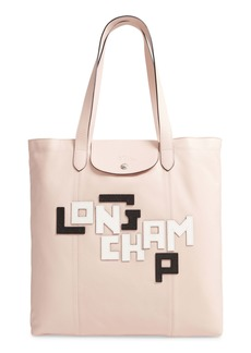 Longchamp Le Pliage Cuir Leather Tote
