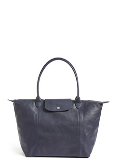 Longchamp Le Pliage Cuir Leather Tote (Nordstrom Exclusive)