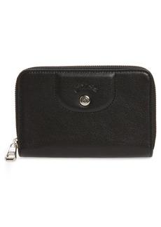 Longchamp Le Pliage Cuir Leather Wallet