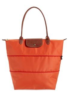 Longchamp Le Pliage Expandable Tote - Orange (Nordstrom Exclusive)