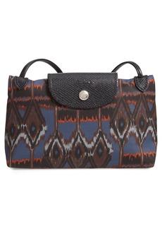 c4a6bedd469a Longchamp Le Pliage Ikat Print Nylon Crossbody Bag