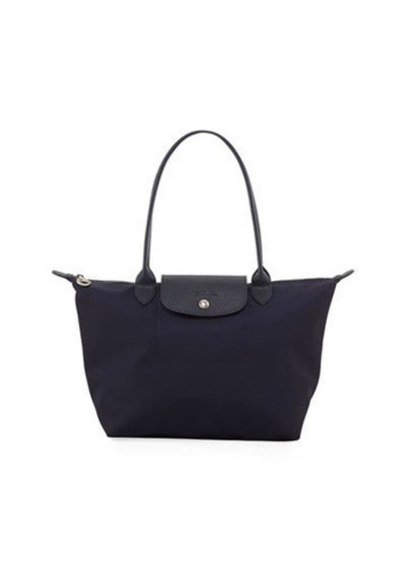 super popular 09357 652ac Longchamp Le Pliage Neo Medium Nylon Shoulder Tote Bag