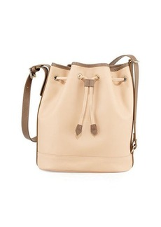 Longchamp Longchamp 2.0 Large Leather Bucket Bag