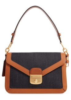 Longchamp Mademoiselle Canvas & Leather Crossbody Bag