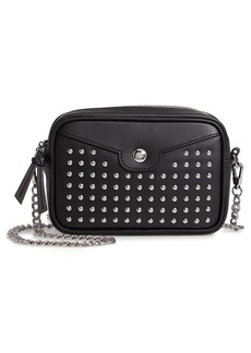 Longchamp Mademoiselle Studded Leather Camera Bag