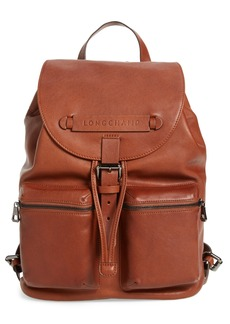 Longchamp Medium 3D Leather Backpack