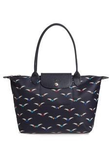 Longchamp Medium Le Pliage- Chevaux Tote
