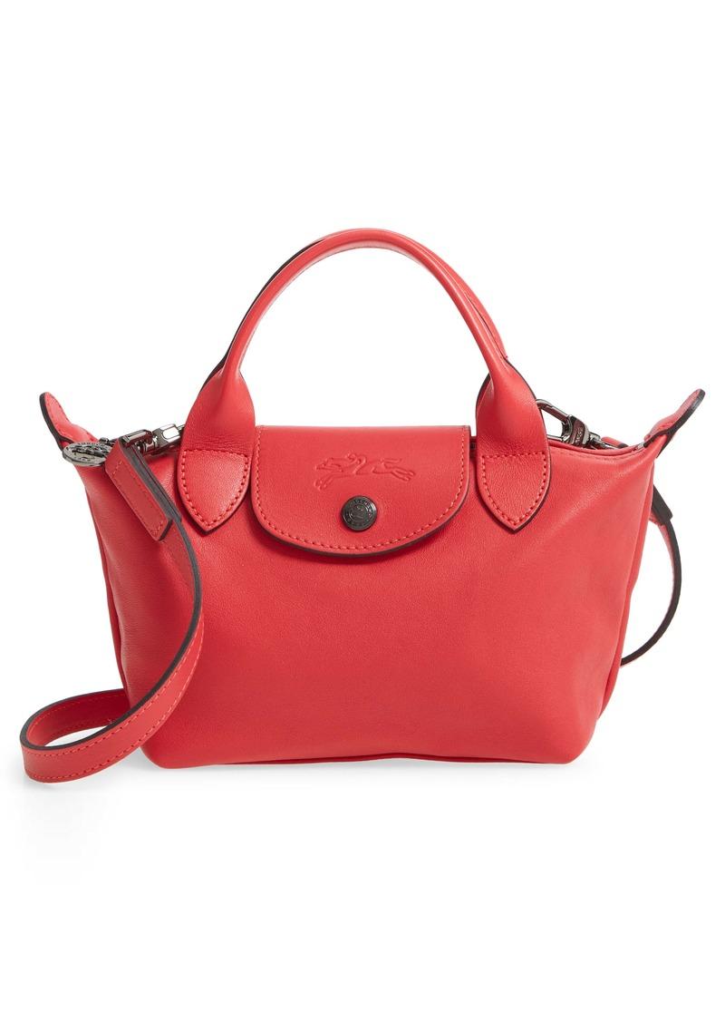 Longchamp Longchamp Mini Le Pliage Cuir Leather Top Handle Bag | Handbags