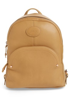 Longchamp Mystery Leather Backpack