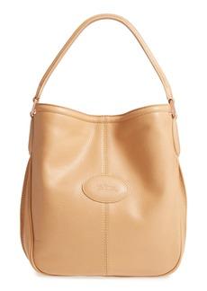Longchamp 'Mystery' Leather Hobo