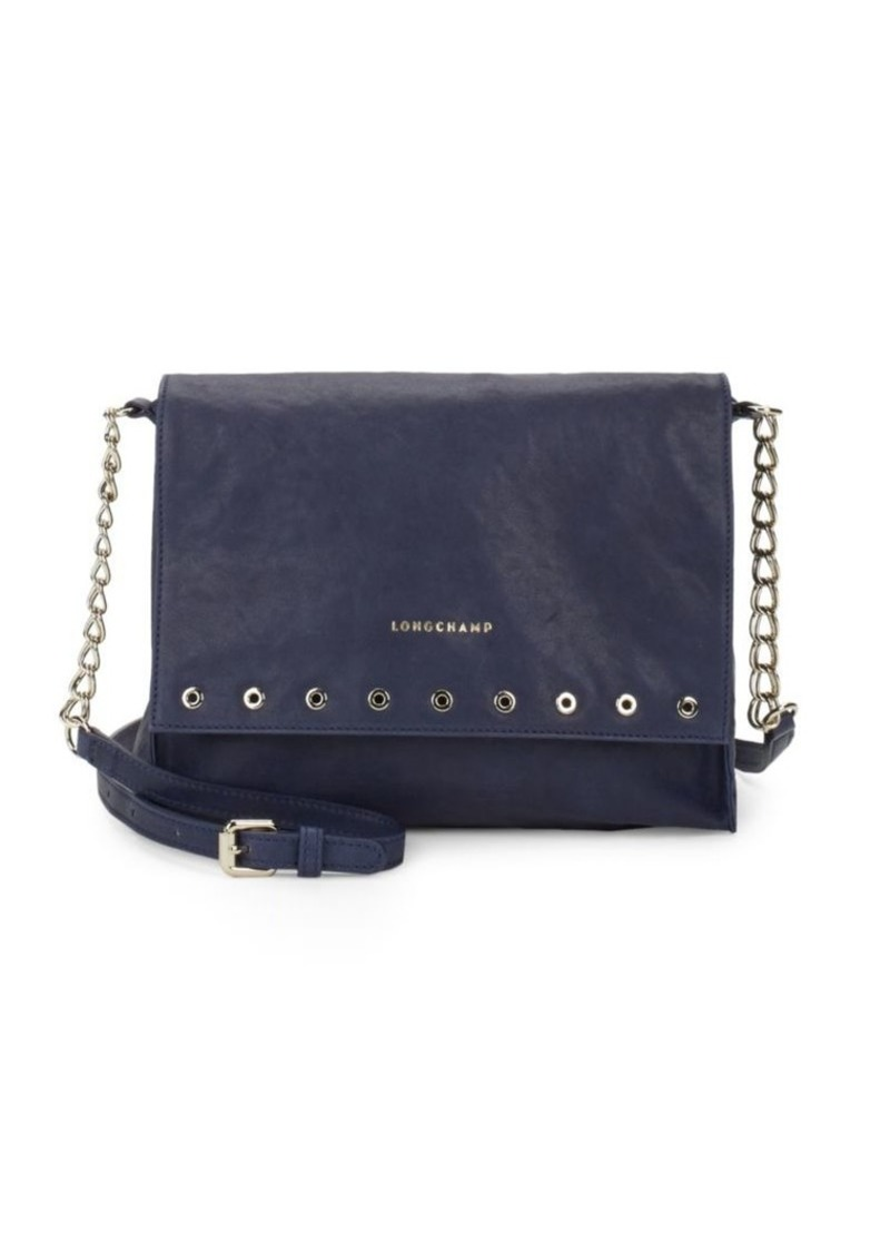 Longchamp Longchamp Paris Rocks Leather Crossbody Bag  8a1b353381da9
