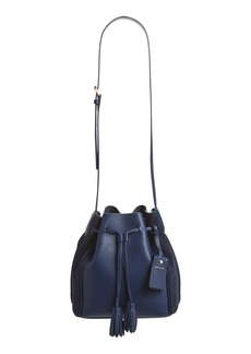 Longchamp Penelope Fantasie Leather Bucket Bag