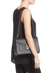 b9d5ed69bc Longchamp Pliage Heritage Leather Shoulder Bag Longchamp Pliage Heritage  Leather Shoulder Bag