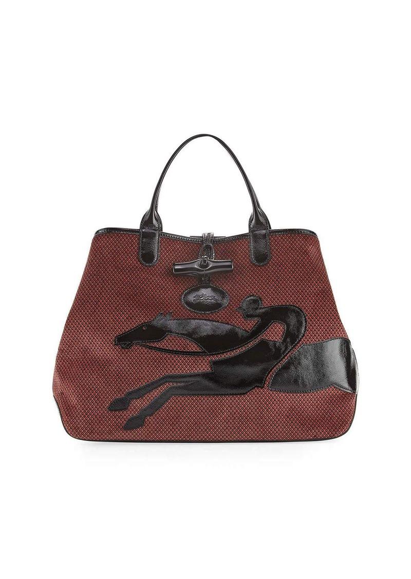 Longchamp Longchamp Roseau Double-Jeu Large Tote Bag  8542a1b7fac7a
