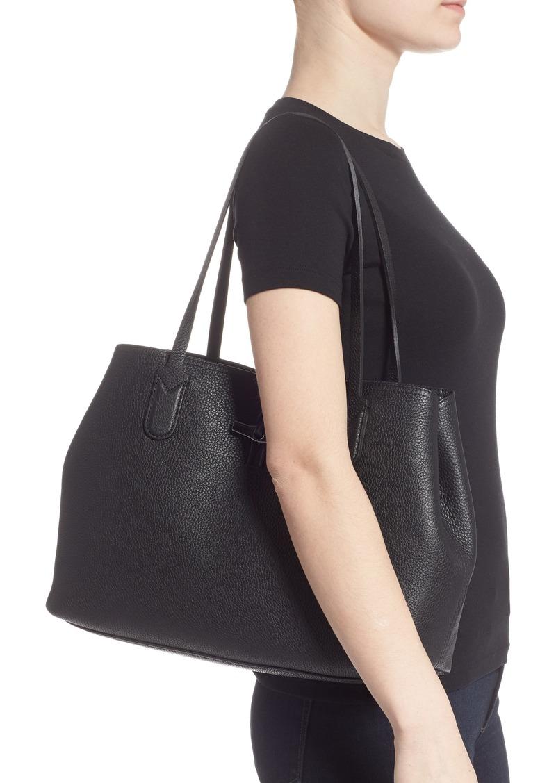 Longchamp Longchamp Roseau Essential Mid Leather Tote | Handbags