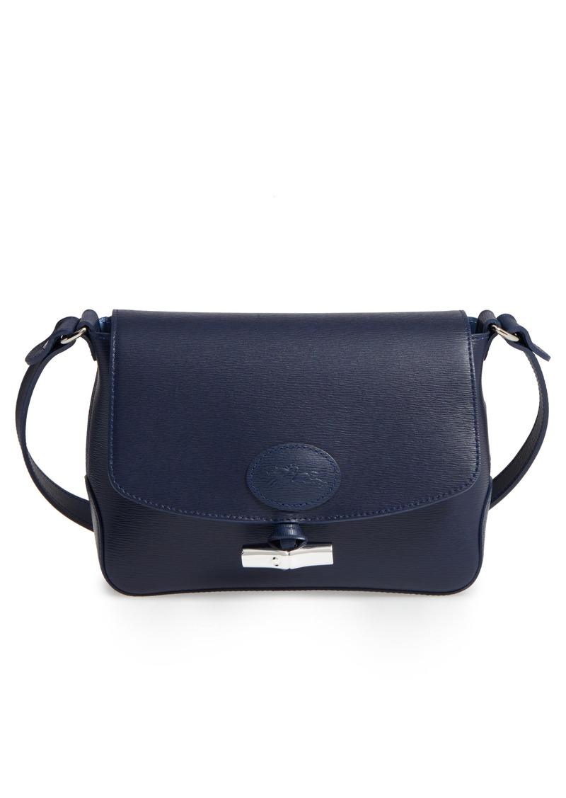 f4eda9b84d Longchamp Longchamp Roseau Leather Crossbody Bag