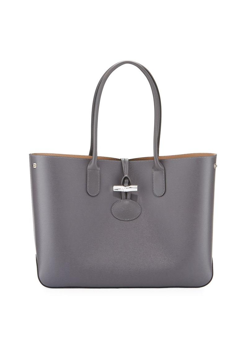 9137cdb43e0 Longchamp Longchamp Roseau Reversible Leather Tote Bag | Handbags