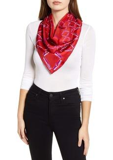 Longchamp Roseau Silk Scarf