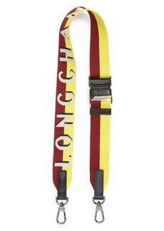 Longchamp Sangle Logo Shoulder Strap