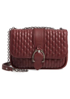 Longchamp Small Amazone Quilted Leather Crossbody Bag