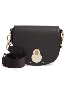 Longchamp Small Cavalcade Leather Crossbody Bag