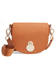 Longchamp Small Cavalcade Leather Crossbody Bag