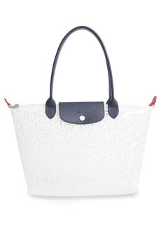 Longchamp Small Le Pliage Translucent Tote