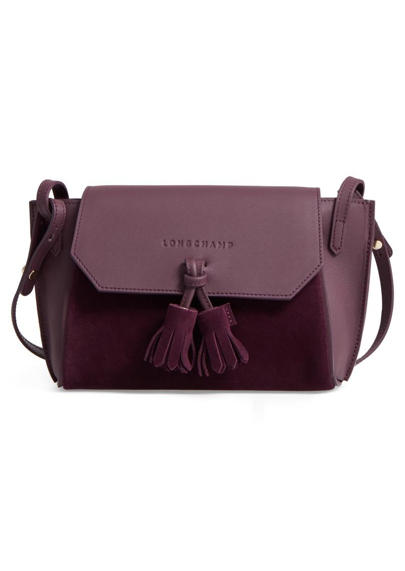 On Sale today! Longchamp Longchamp Small Penelope Leather Crossbody Bag 82d2a73f6efa2